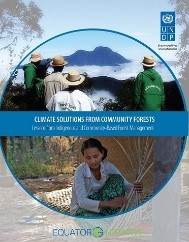 """Climate Solutions from Community Forests"""